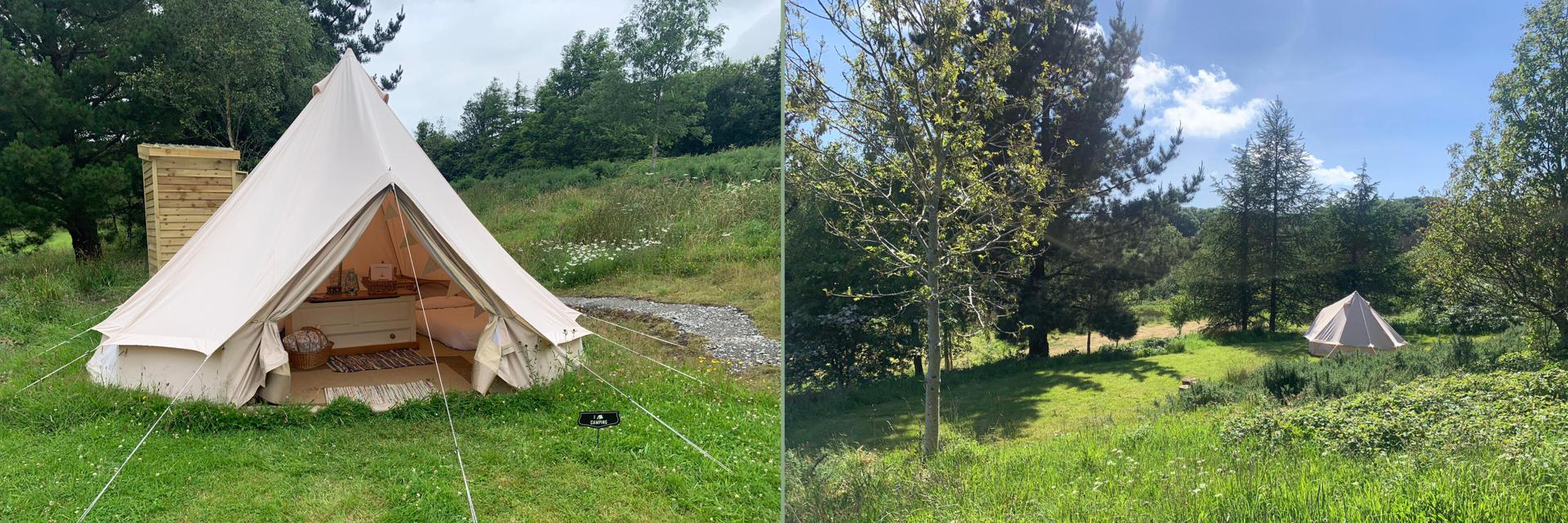 Watermeadows Glamping in Pembrokeshire